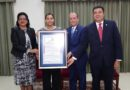 Senado  reconoce a la maestra y chef internacional María Altagracia Marte.