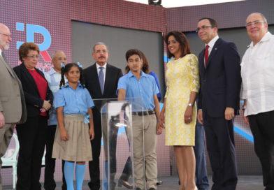 Danilo Medina deja iniciado apertura año escolar 2018