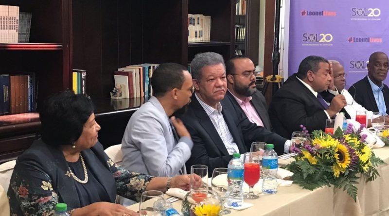 Leonel confiado ganará las elecciones 2020
