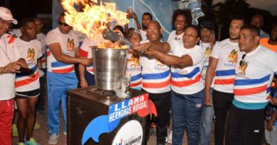 Antorcha Juegos Nacionales llega a tres provincias del Sur