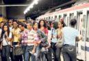 Usuarios del Metro Santo Domingo confrontan problemas para llegar a su destino