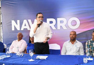 Andrés Navarro asegura que los liderazgos «ni se regalan, ni se venden,ni se compran, ni se heredan»