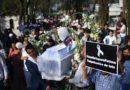 Sepultan niña asesinada de México en medio de dolor, llanto e indignación