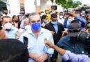 VIDEO: Abinader da «Boche» a médico que pidió construcción casa club en SPM