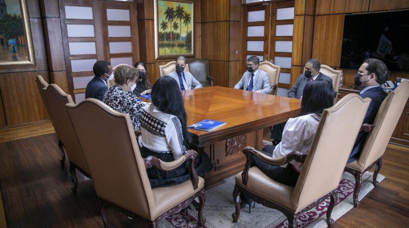 Miriam Germán se reúne con fiscales que trabajan la Operación Falcón